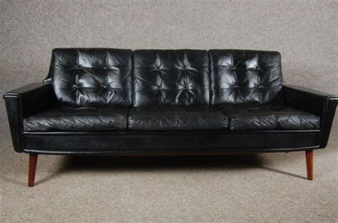 goose down sofas sale vintage retro danish black leather sofa goose down