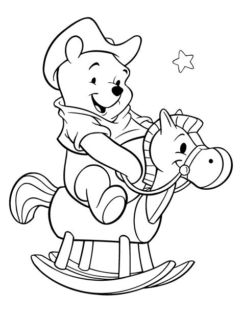 Free Coloring Pages Of Pooh Face Winnie The Pooh Coloring Pages