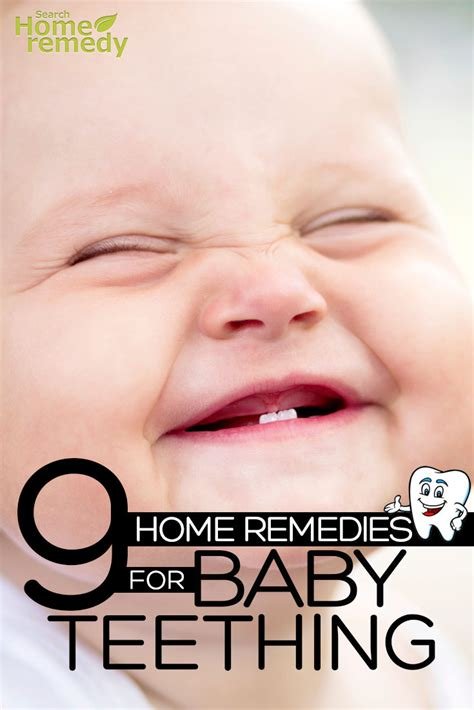 9 home remedies for baby teething cure and