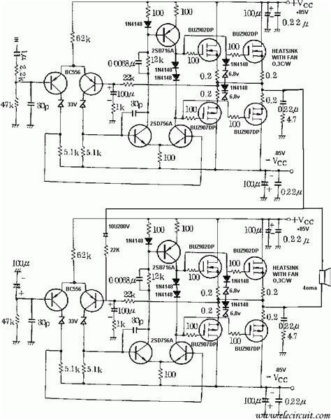 layout pcb power lifier 800 watt 800 watt amplifier circuit diagram wiring diagram with