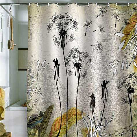 dandelion curtains little dandelion shower curtain shower curtains pinterest