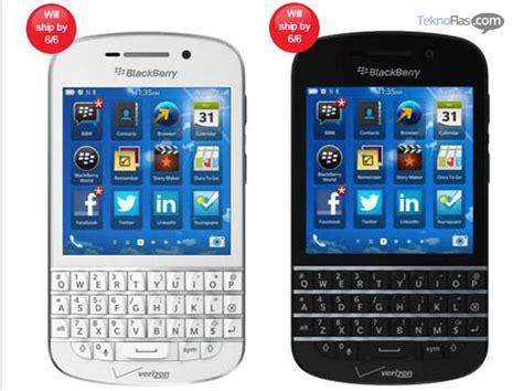 Hp Blackberry Verizon blackberry q10 sudah bisa pre order di verizon teknoflas