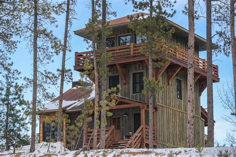 Vacation Rental House Plans by Lookout Tower Black Hills Adventure Lodging