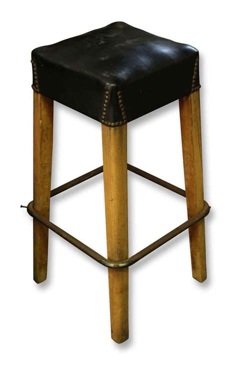Padded Stool by Padded Bar Stool Olde Things