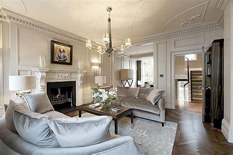 london home interiors salon w stylu angielskim modne wnętrza