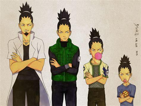 shikamaru over the years by vortexofsaturn on deviantart