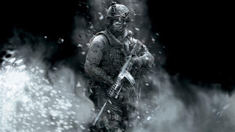 full hd wallpaper call  duty soldier black  white