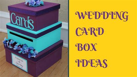 wedding card box diy diy wedding card box ideas