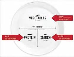 portion template portion plate