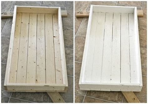 wood tray diy diy rustic wood tray