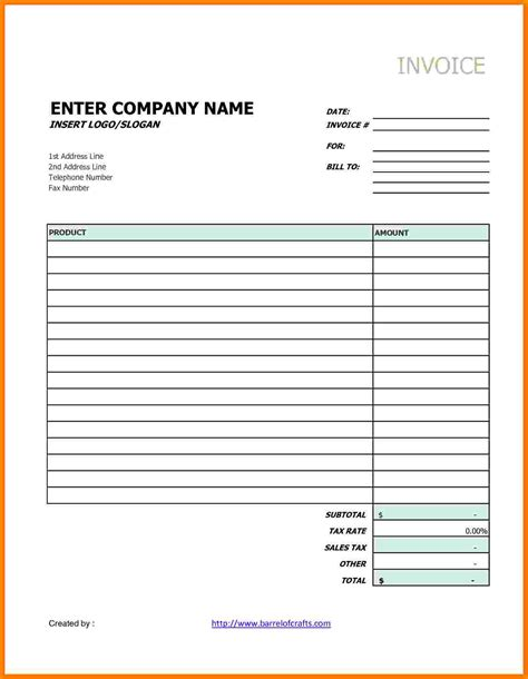 generic invoice template free 6 generic invoice paid invoice