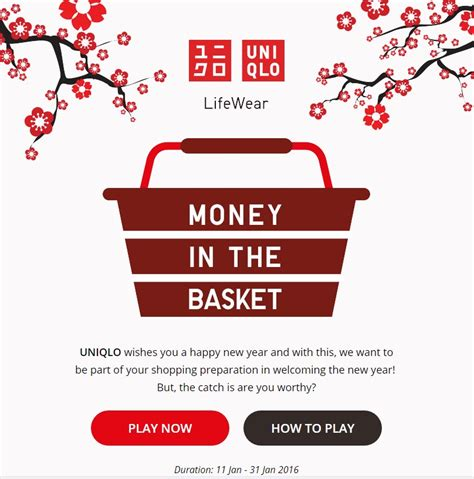 uniqlo singapore new year digital marketing celebrate new year with