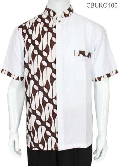 2 Set Baju Barong Anak baju muslim koko motif parang barong kemeja lengan