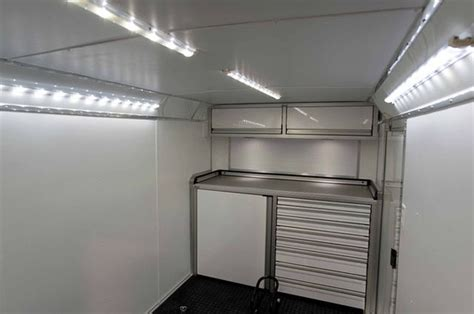 enclosed trailer led lights gallery for gt enclosed trailer interior lighting interior