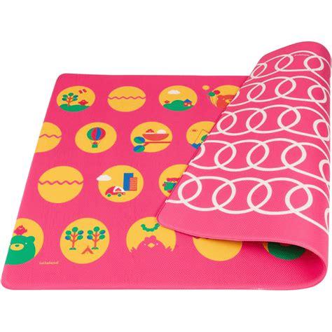 Pink Car Play Mat by Lollaland Play Mat Posh Pink