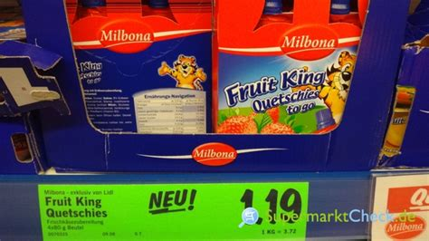 fruit king milbona fruit king quetschies to go erdbeer kalorien
