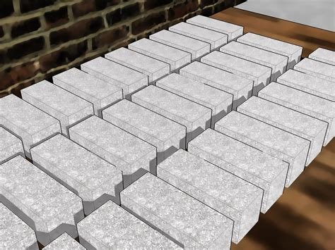 how to make a concrete how to make bricks from concrete 8 steps with pictures