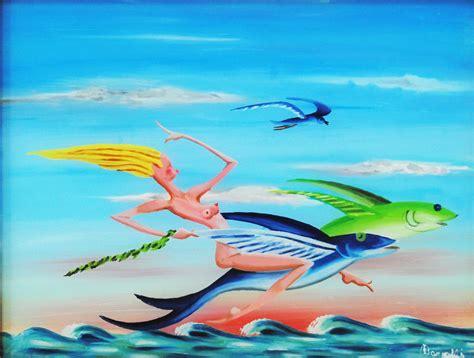 pesci volanti francesco borrelli pesci volanti meloarte