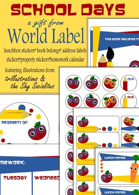 printable labels nz 29 best kids school labels printables and templates