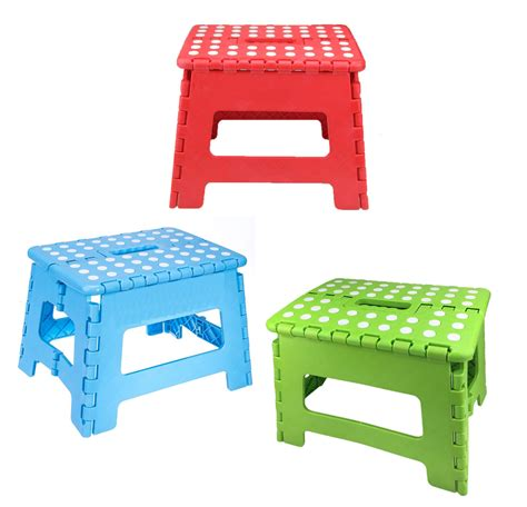 sturdy folding step stool home folding step stool for adults 12 quot heavy duty