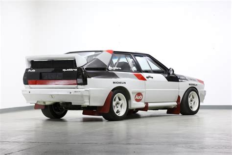 Audi Rally Car For Sale by For Auction Ex Works 1982 Audi Quattro A1 B Rally Car