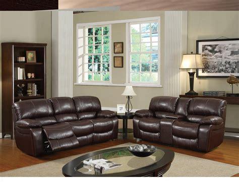 global furniture bonded leather sofa buy global furniture u8122 sofa set 2 pcs in burgundy