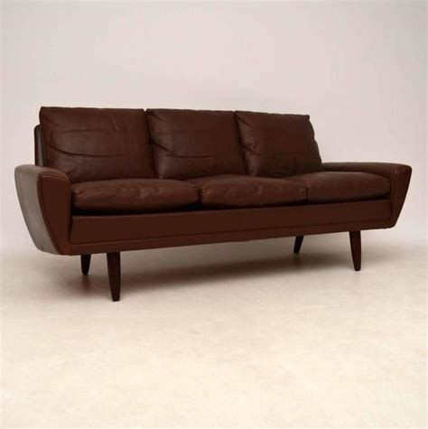 retro danish sofa danish retro leather 64 sofa by gustav thams vintage