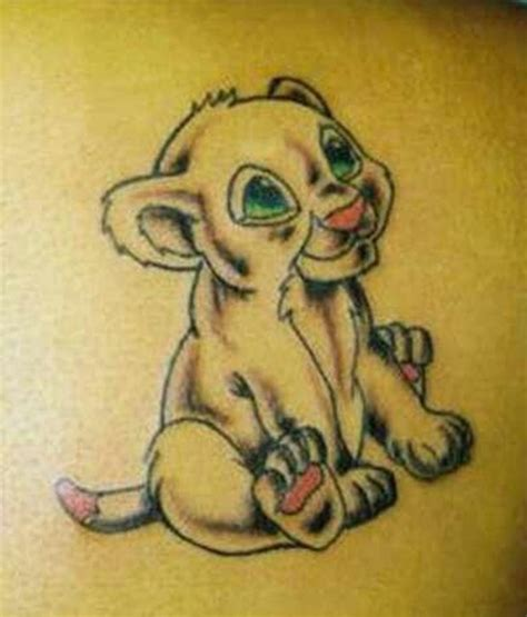 40 pictures of baby animals tattoos