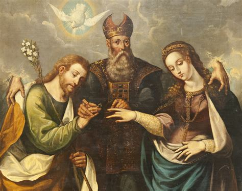 imagenes virgen maria y san jose file the marriage of the virgin desposorios del la virgen