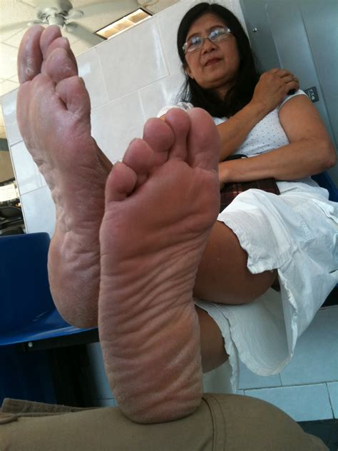 granny foot welcome to feet unit soles of feet crossed at the ankles