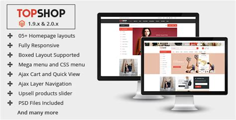 Topshop Premium Multipurpose Magento 2 0 1 9 Theme Preview Themeforest Magento 2 Homepage Template
