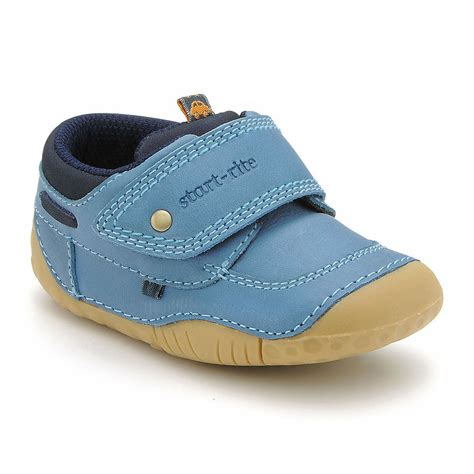 kids shoes fitted childrens footwear by start rite poole blue leather girls first shoe