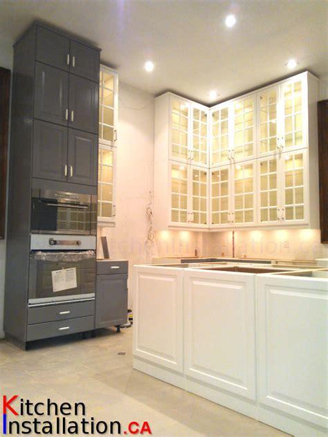 Kitchen Installers Toronto by Installation Of Ikea Kitchens Gallery Portfolio