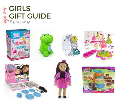 2017 top gifts for girls age 7 9 gift guide giveaway