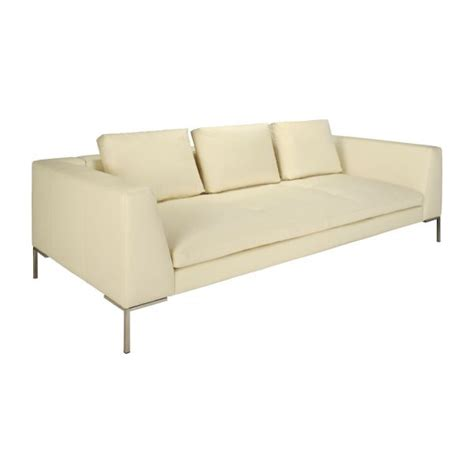 cream leather 3 seater sofa montino 3 seater sofa in eton veined leather cream