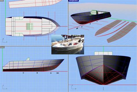 origami steel boat design boat plans boat plans for home builders