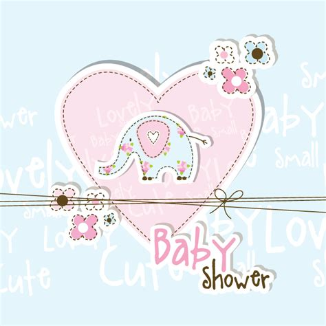 Baby Shower by Lovely Baby Shower Free Vector Graphic
