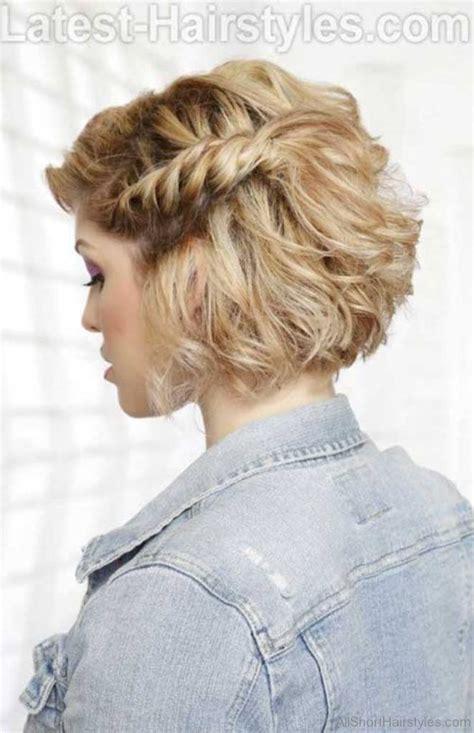 bob haircut with plait 56 cute short braid haircuts for sweet girls