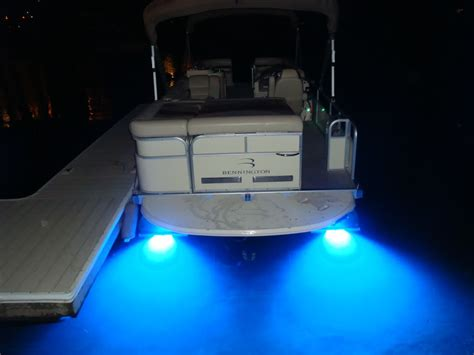 lights on boats underwater side light heads up club bennington