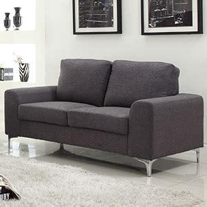 buy concept furniture two seater sofa grey at home