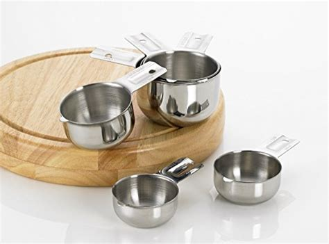 Kitchen Cups by Bellemain Stainless Steel Measuring Cup Set 6