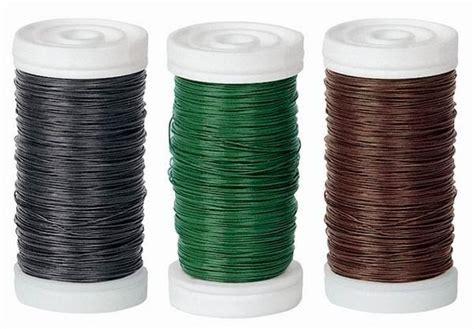 kerzenhalter grün blumen bindedraht gr 195 188 n