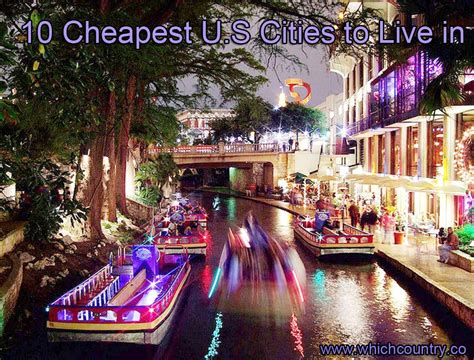 where is the cheapest place to live top 10 cheapest u s cities to live in most cheapest