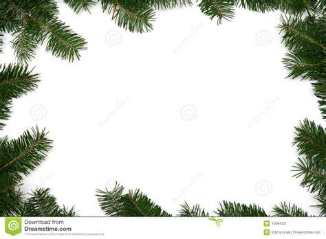christmas tree frame stock photos image 1506433