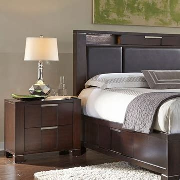 najarian furniture contemporary bedroom set studio na stbset najarian furniture night stand studio na stns
