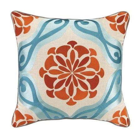 Orange And Blue Pillows by Blue Orange Pillow Home Style