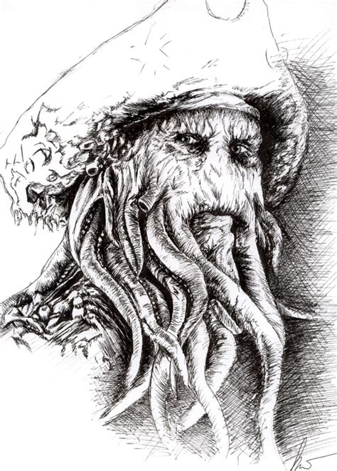 davy jones by silentkw on deviantart