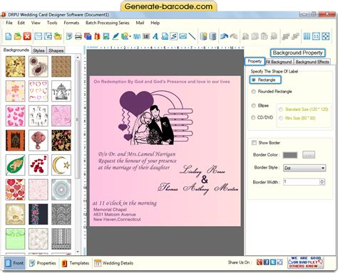 screenshots of wedding card designer software to learn how screenshots of wedding card designer software to view process