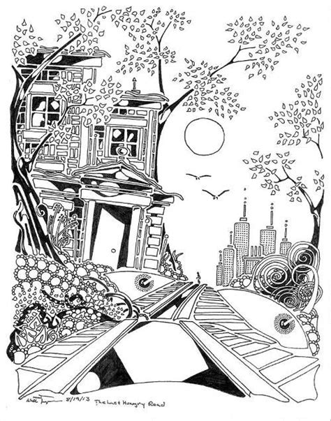 17 Images About Adult Horror Coloring Pages On Pinterest Horror Coloring Pages For Adults