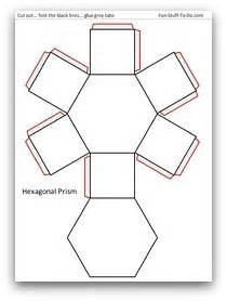 3d Hexagon Template by 4 Best Images Of Hexagon 3d Shape Templates Printable 8